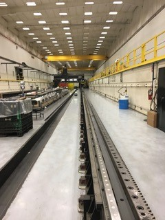72 METER GANTRY MILL RAIL